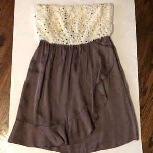 Hello Miss Mini dress Medium Strapless